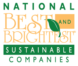 National 2015 Best and Brightest Sustainable Companies® logo