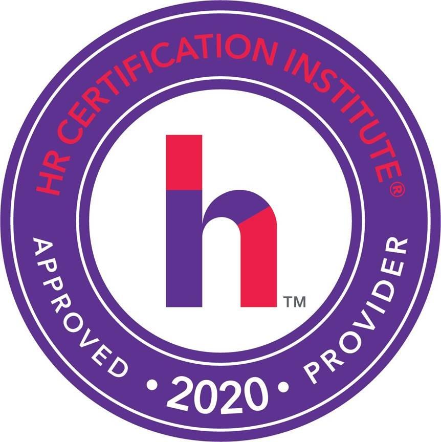 HR certification badge 2019