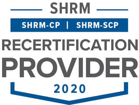 SHRM Recertification Provider Seal 2019